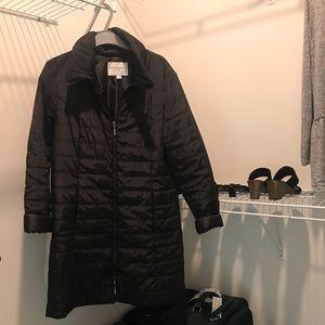 Down-filled black winter coat!